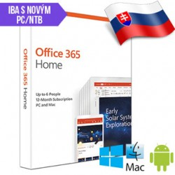 MS Office 365 Home SK 1rok ML Save Now 6GQ-01048