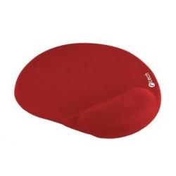C-TECH podložka pod myš gelová MPG-03, červená, 240x220mm MPG-03R