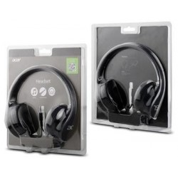 Acer Over-Ear Headphones Black, retail box NP.HDS11.00G