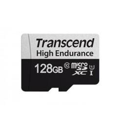 Transcend 128GB microSDXC 350V UHS-I U1 (Class 10) High Endurance...