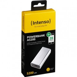 INTENSO A5200, Powerbanka 5200 mAh silver 7322421