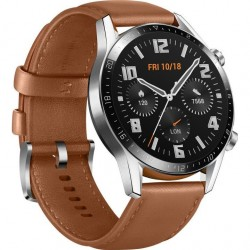 HUAWEI Watch GT 2 Leather Strap, Brown 55024470