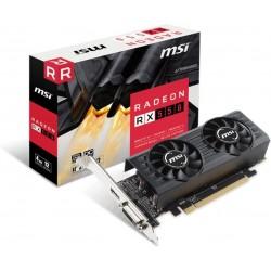 MSI Radeon RX 550 4GT GDDR5 1203 MHz/6000 MHz HDMI/DL-DVI-D Radeon RX 550 4GT LP OC