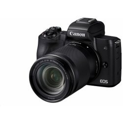 Canon EOS M50 Black + EF-M 15-45 IS + SB130 + 16GB - REPASE 2680C064R