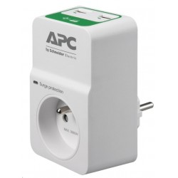 APC Essential SurgeArrest 1 outlets with 5V, 2.4A 2 port USB charger, 230V France PM1WU2-FR