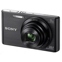 SONY DSCW830B Cyber-Shot 20.1MPix, 8x zoom - černý DSCW830B.CE3