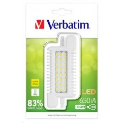 VERBATIM LED žárovka,LED R7s 8.5W-50W ND 3000K 650LM 52621