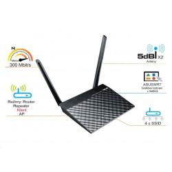 ASUS RT-N12K Wireless N300 Router, klient 90-IG10002MB1-3PA0-