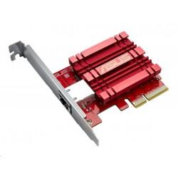 ASUS XG-C100C Síťový adaptér 10GBase-T PCIe se zpětnou kompat. 5/2,5/1G a 100Mb/s, RJ45 port a integr. QoS 90IG0440-MO0R00