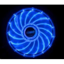 AKASA Ventilátor Vegas 120x120x25mm, 1200RPM podsvícený, 15xLED, modrý AK-FN091-BL