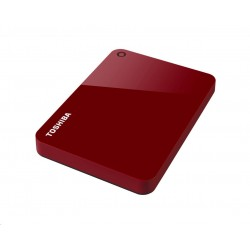 "TOSHIBA HDD CANVIO ADVANCE 1TB, 2,5"", USB 3.0, červený HDTC910ER3AA"