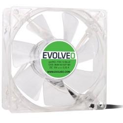 EVOLVEO 14L1BL ventilátor 140mm, 4 LED modrý, 3pin FAN 14 BLUE