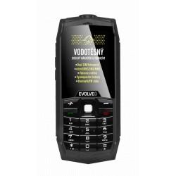 EVOLVEO StrongPhone Z1, vodotěsný odolný Dual SIM telefon SGP-Z1-B