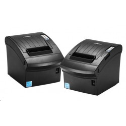 BIXOLON/Samsung SRP-350plusIII pokladní termotiskárna, RS232/USB/LAN, černá, řezačka, zdroj SRP-350PLUSIIICOSG