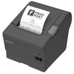 EPSON TM-T88V pokladní tiskárna, USB + serial, tmavá, se zdrojem C31CA85042