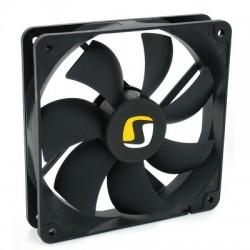 Ventilátor (mm): 120x120x25 Rychlost otáček (RPM): 1100 Průtok vzduchu: 39,6 CFM (67,2 m3h) Hlučnost: 13,6 dB / A L SPC016