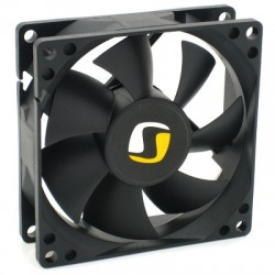 SilentiumPC přídavný ventilátor Zephyr 80/ 80mm fan/ ultratichý 13,9 dBA SPC014