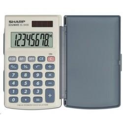 SHARP kalkulačka - EL-243S - bílá SH-EL-243S
