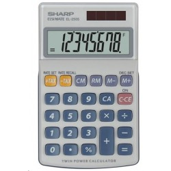 SHARP kalkulačka - EL-250S - bílá SH-EL-250S