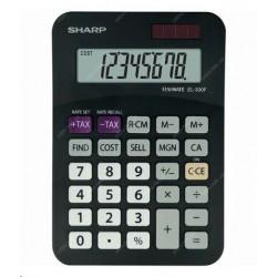 SHARP kalkulačka - EL330FBBK - blister SH-EL330FBBK
