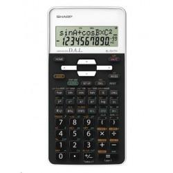 SHARP kalkulačka - EL531THWH - bílá - box SH-EL531THWH