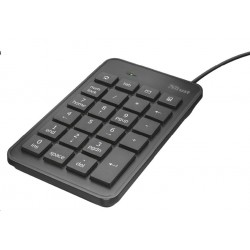 TRUST klávesnice Xalas USB Numeric Keypad 22221