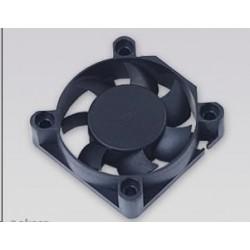 AKASA Ventilátor 4cm Black Fan, 40x40x10mm, Sleeve bearing, 24.87 dBA, 3 pin DFS401012M