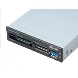 AKASA Čtečka paměťových karet, interní, USB 3.0 AK-ICR-14
