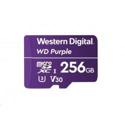 WD PURPLE microSDXC CARD WDD256G1P0A 256GB Class 10 (R80 / W50 MB/s)