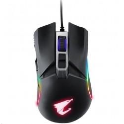 GIGABYTE Myš Gaming Mouse AORUS M5, USB, Optical, up to 16000 DPI...