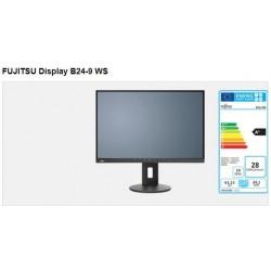 """FUJITSU MT B24-9 WS 24"""" matný, 1920x1200, IPS, DP, HDMI, D-SUB, REPRO, USB 2x2.0, PIVOT, černý S26361-K1684-V160"""