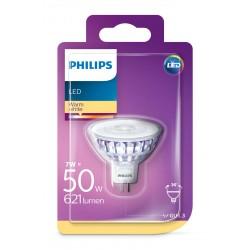 PHILIPS LED Classic žárovka bodová MR16 36° 12V 7W GU5,3 noDIMlm 2700K A+ 15000h (Blistr 1ks) 929001904801