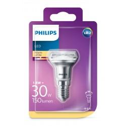 PHILIPS LED žárovka reflektorová R39 36° 230V 1,8W E14 noDIM 190lm 2700K A++ 15000h (Blistr 1ks) 929001890901