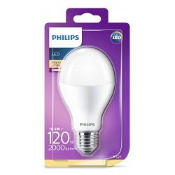 PHILIPS LED žárovka klasická A67 230V 18,5W E27 noDIM Matná 2000lm 2700K Plast A+ 15000h (Blistr 1ks) 929001313201