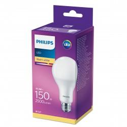 PHILIPS LED žárovka klasická A67 230V 19,5W E27 noDIM Matná 2500lm 2700K Plast A++ 15000h 929001892401