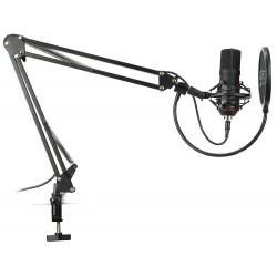 SPC Gear mikrofon SM900 Streaming microphone / USB / polohovatelné...