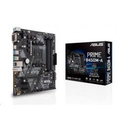 ASUS MB Sc AM4 PRIME B450M-A/CSM (SW + PUR RMA), AMD B450, 4xDDR4,...