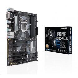 ASUS MB Sc LGA1151 PRIME B360-PLUS/CSM (SW + PUR RMA), Intel B360,...