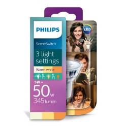 PHILIPS LED Classic žárovka bodová PAR16 36° 230V 1,5-3,5-5W GU10 noDIMlm 2200-2700K A+ 15000h (Blistr 1ks) 929001346001