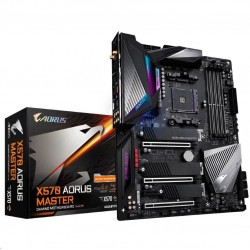 GIGABYTE MB Sc AM4 X570 AORUS MASTER, AMD X570, 4xDDR4, Wi-Fi