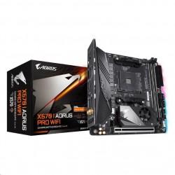 GIGABYTE MB Sc AM4 X570 I AORUS PRO WIFI,  AMD X570, 2xDDR4, VGA,...