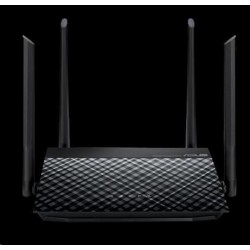 ASUS RT-N19 Wireless N600 Router, 1x 10/100 WAN, 2x 10/100 LAN, router / access point / repeater 90IG0600-BN9510