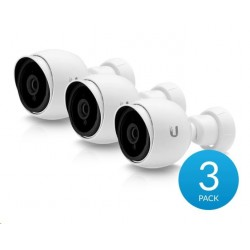 UBNT UVC-G3-BULLET-3, UniFi Video Camera G3 Bullet, FHD, 3.6mm H.264, IR, 24V PoE, 3-pack