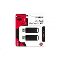 Kingston 32GB DataTraveler DT20 (USB 2.0) - 2 ks DT20/32GB-2P