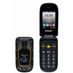 EVOLVEO StrongPhone F5, vodotěsný odolný Dual SIM telefon SGP-F5-B