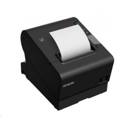 EPSON TM-T88VI pokladní tiskárna, RS232/USB/LAN, buzzer, černá, se zdrojem C31CE94112