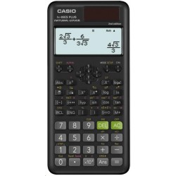 CASIO kalkulačka FX 85 ES Plus 2E, černá, školní, desetimístná FX-85ESPLUS-2-SETD