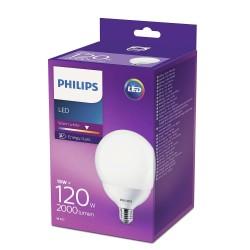 PHILIPS LED žárovka Globe G120 230V 18W E27 noDIM Matná 2000lm 2700K Plast A+ 15000h (Krabička 1ks) 929001229801