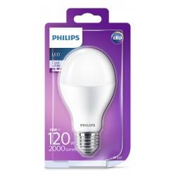 PHILIPS LED žárovka klasická A67 230V 18W E27 noDIM Matná 2000lm 4000K Plast A+ 15000h (Blistr 1ks) 929001313301
