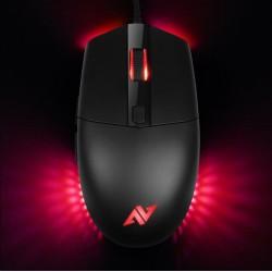 ABKONCORE Herní myš A660 3325, optická, USB, černá ABKO-MOUSE-A660-3325